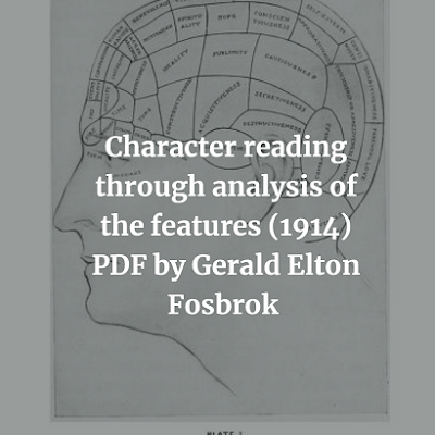 Character reading through analysis of the features
