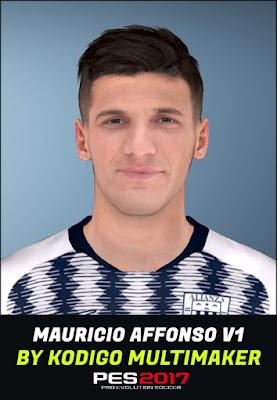 PES 2017 Faces Mauricio Affonso by Kodigo