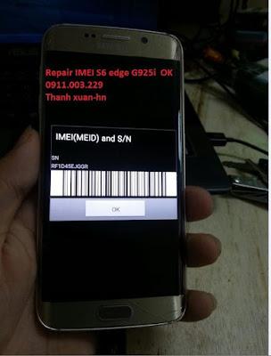 حل مشكلة اختفاء Imei & Basband S6 Edge G925I