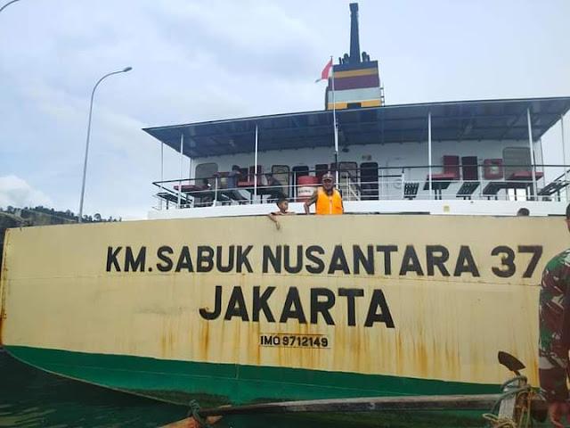 KM. Sabuk Nusantara.