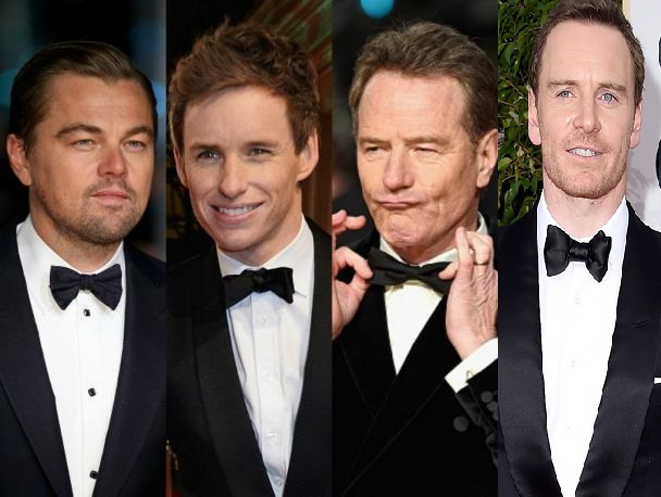 Oscar2016, red carpet, cine, The Oscar goes to, movie, Michael Fassbender, Eddie Redmayne, Bryan Cranston, Matt Damon, Leonardo DiCaprio, Suits and Shirts, tuxedo, esmoquin, Giorgio Armani, Tom Ford, Burberry, Valentino, ermenegildo zegna,
