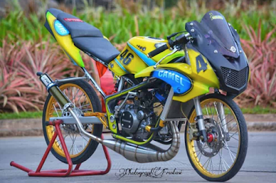 Modifikasi ThaiLook Motor Ninja RR