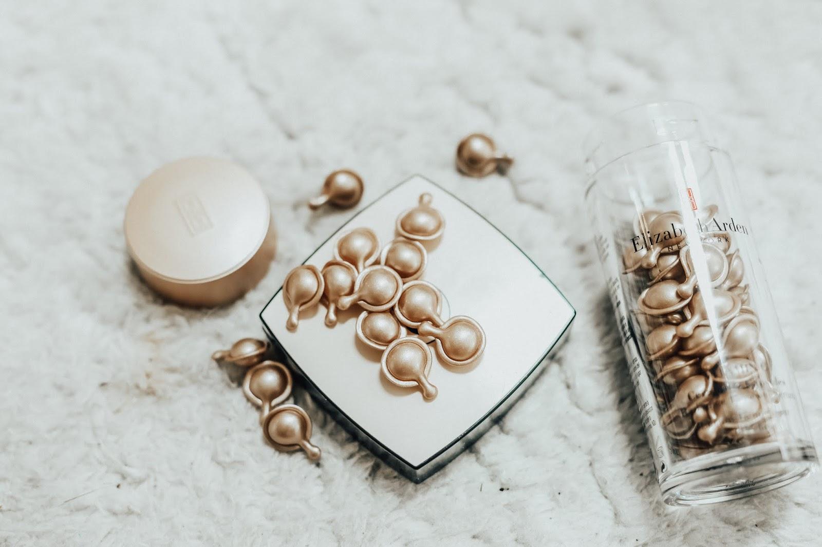 Elizabeth Arden's Vitamin C capsules