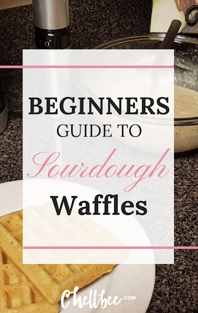 Sourdough Starter Waffles | Learn how to use your sourdough starter discard. This waffle recipe is perfect for new or mature sourdough starters. #sourdough #waffle #recipes