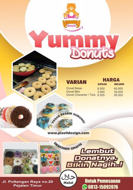 Iklan Brosur Promosi Makanan Roti  Kue Cake
