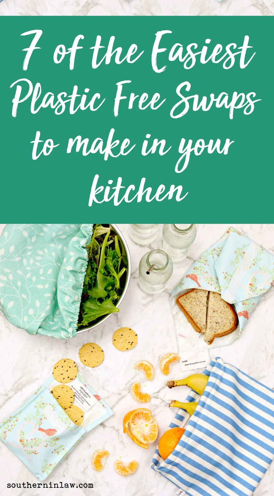 The Best Easy Plastic Free Swaps to Make In Your Kitchen - Eco Friendly Alternative to Cling Wrap