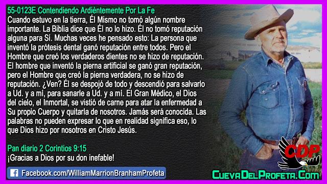 El Hombre sin reputación - William Branham en Español
