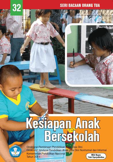 Buku Parenting Kesiapan Anak Bersekolah