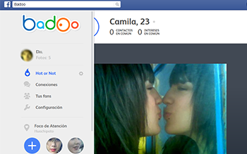 Jugar Hot or Not Badoo Facebook