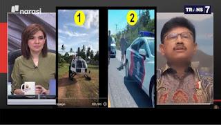 Mau Tanya Pak Menkominfo, Video Kawal Jogging dan Helikopter Itu Hoax Apa Tidak?