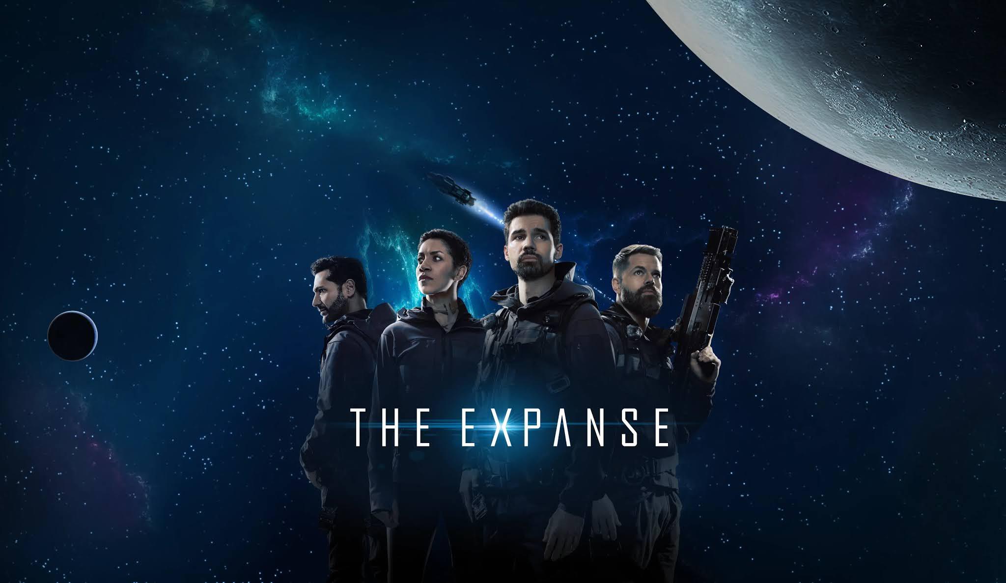 El rodaje de la serie The Expanse