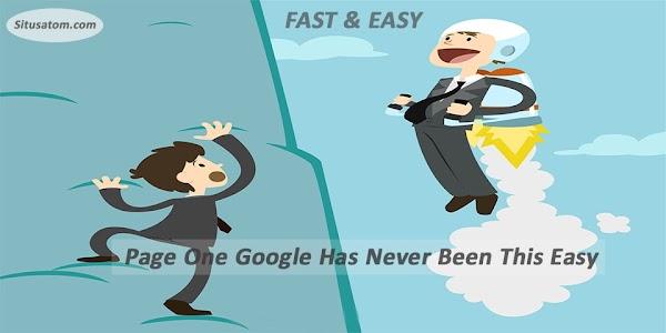 Cara Mudah dan Cepat Agar Website/Blog Tampil Di Halaman Pertama Google!