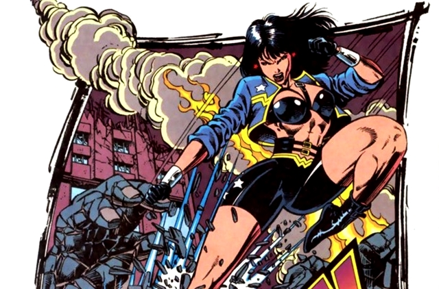 Wonder Woman años 90