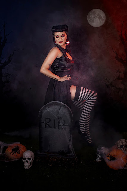 Ensaio Halloween Pin Up @line.lihh - Fotógrafa: @renatacandido.foto