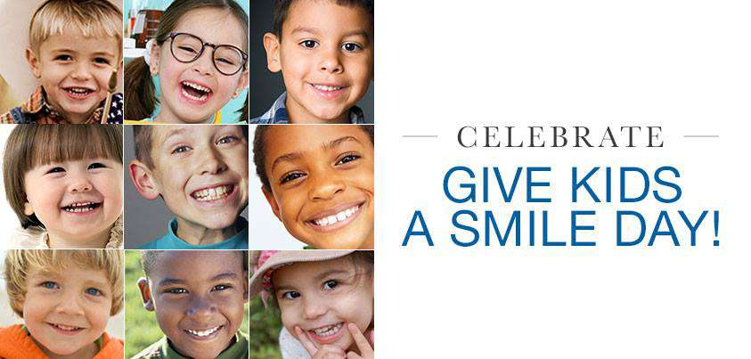 Give Kids A Smile Wishes Images