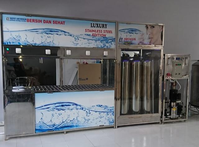 Aqualux Depot Air Minum Isi Ulang