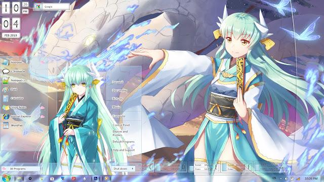 Kiyohime (Berserker) Fate/Grand Order Theme Win 7 by Enji Riz Lazuardi