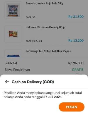 metode pembayaran aplikasi dagangan