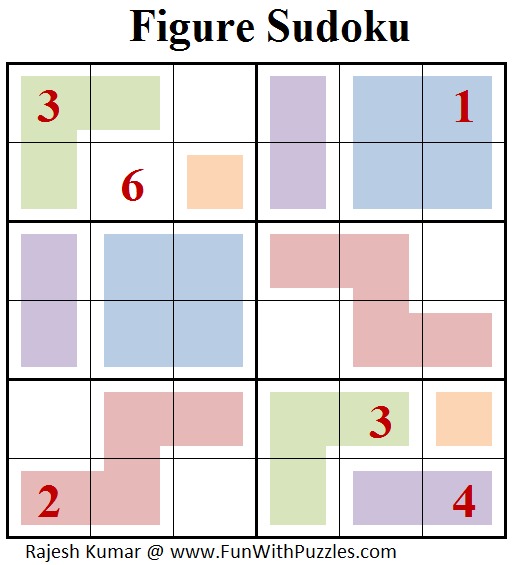 Figure Sudoku (Mini Sudoku Series #76)