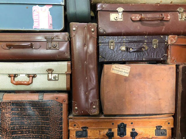 vintage suitcases Photo by Nick Fewings on Unsplash