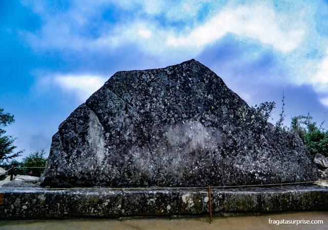 Wank'a, Rocha Sagrada de Machu Picchu