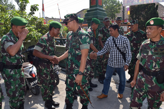 Dandim 0723/Klaten Laksanakan Kunker ke Koramil 17/Karangdowo
