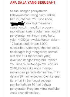 Dapatkan subscribe YouTube mudah