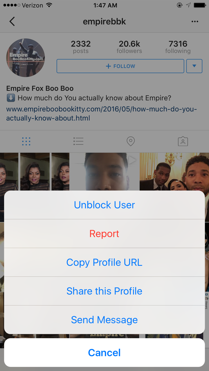 How To Unhide Someone On Instagram - Empire BBK