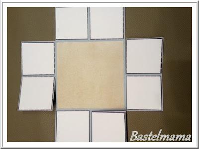 Alexandra Renke Papier + Stanze, SU stiched Framelits, XXL Faltkarte