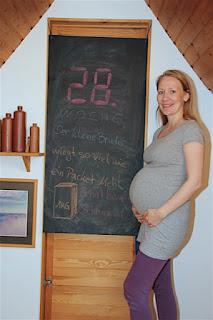 Bauchbild 28. Schwangerschaftswoche