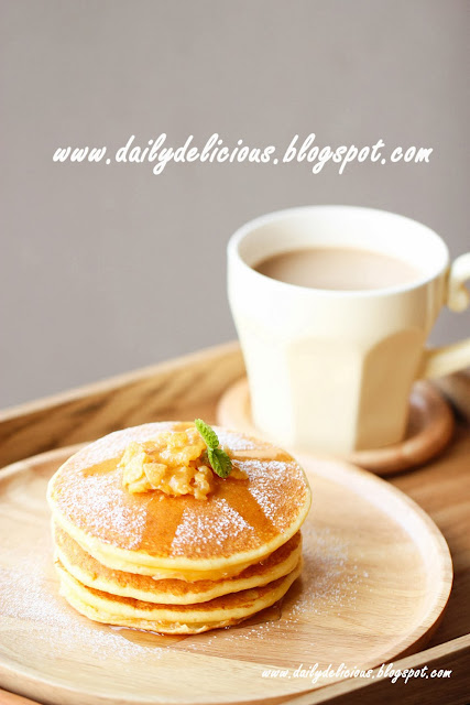 Fluffy Cottage cheese pancake (ふわっふわカッテージチーズ ...