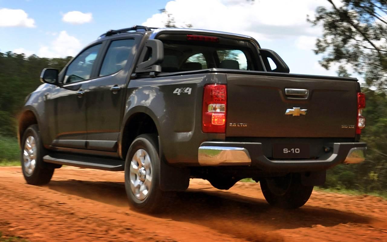Chevrolet S-10: comemora-se a produção de 100 mil unidades ...