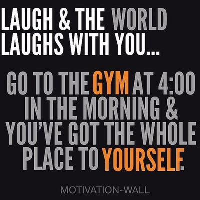 Workout In The Morning Quotes