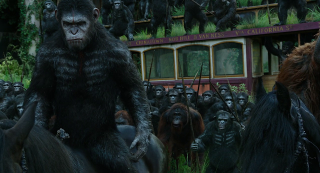 Dawn of the Planet of the Apes 2014 Dual Audio Hindi 720p BluRay