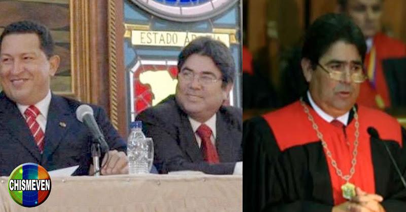 Juez Chavista Omar Mora Díaz se fue a visitar a Chavez a la séptima paila QNDEP