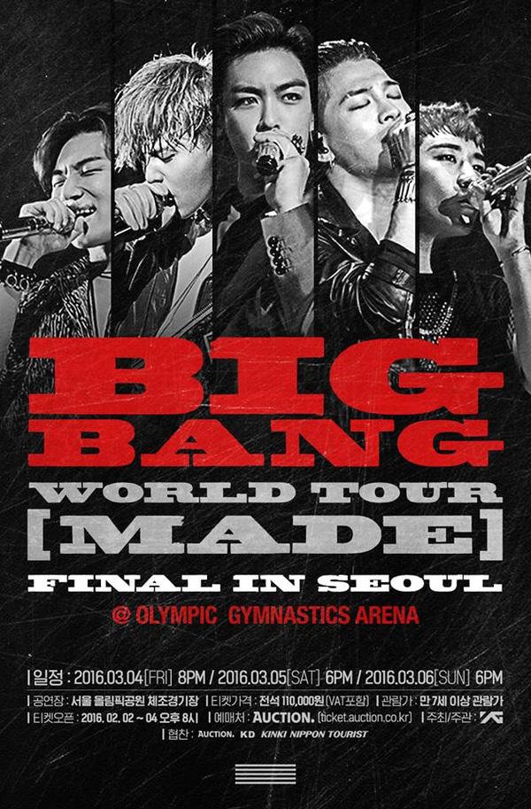 Khoảnh khắc ấy khi Big Bang cũng không có nổi vé concert... Big Bang