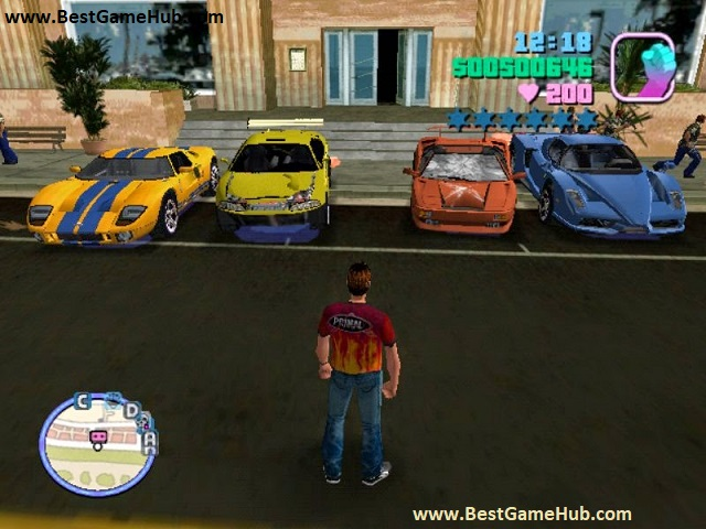 Grand Theft Auto Vice City Starman high compressed free download - bestgamehub.com
