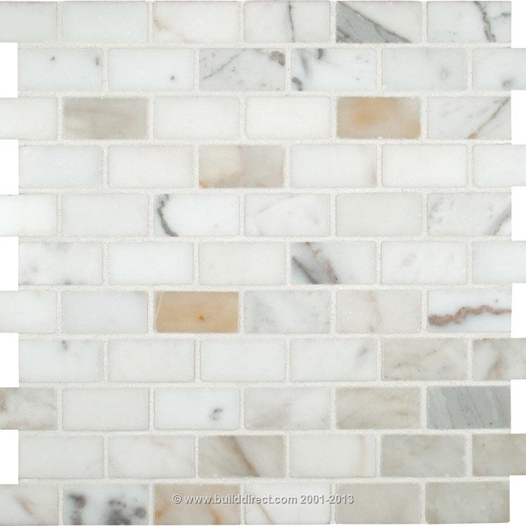 calacatta gold subway tile backsplash - photo #3