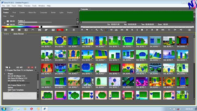 Edius Effects Free Download SHL Boris HD Effects V.3.0