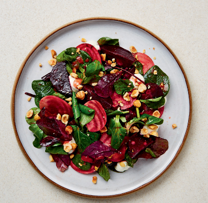 Beetroot Salad with Whipped Goat's Cheese