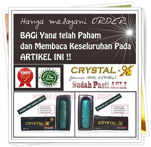 konsultasi gratis order crystal x