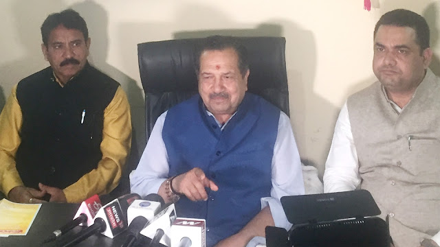 Congress is against democracy, anti-people and anti-national; Indresh Kumar