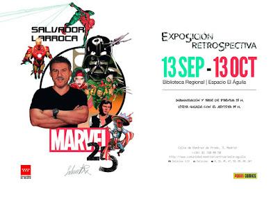 Exposición y encuentro con Salvador Larroca en Madrid