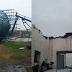 Temporais que rumam pro Sul do Brasil trazem estragos na Argentina