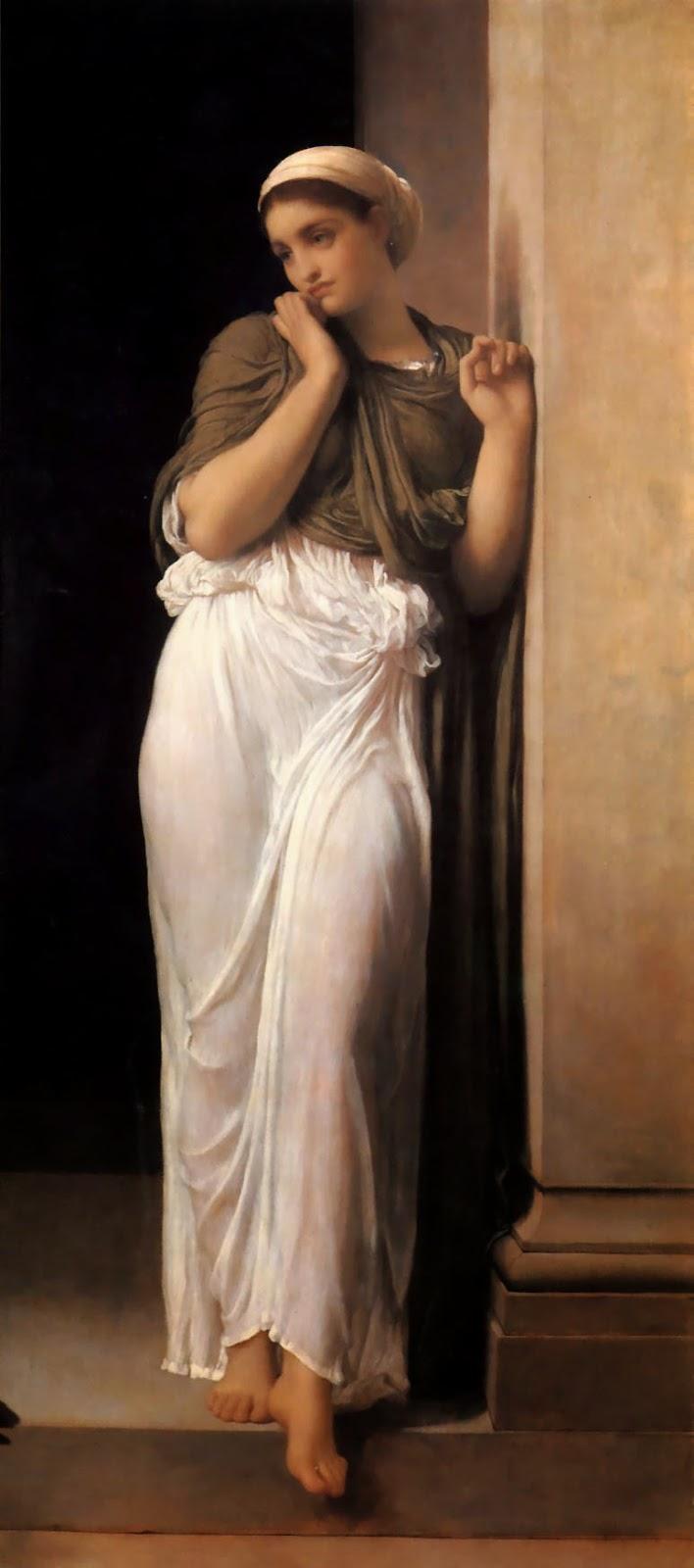 Nausicaa - Lord Frederick, o mais famoso artista britânico do século XlX
