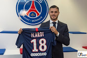 Resmi: Mauro Icardi Pindah Dari Milan ke Paris, Prancis