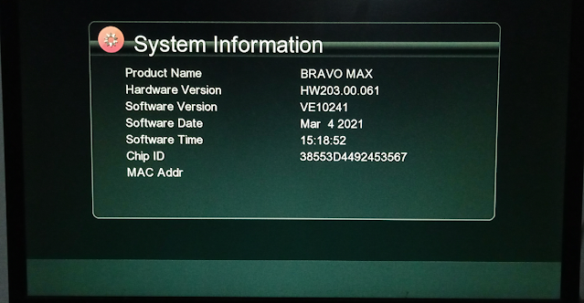 ECHOLINK BRAVO MAX GX6605S HW203.00.061 NEW SOFTWARE WITH WIZARD SERVER OPTION