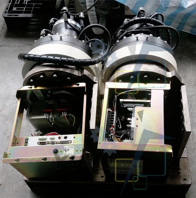 Nabtesco RT-320E-5757-B2 HF TURNING MOTOR AC SERVO MOTOR