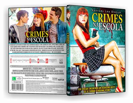 CAPA DVD – Crimes Na Escola – ISO