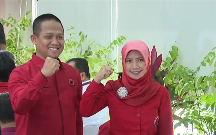 Akhirnya Rekomendasi DPP PDIP Diberikan Kepada Pasangan Arif-Ristawati